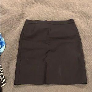 Jcrew no. 2 pencil skirt. Black size 8